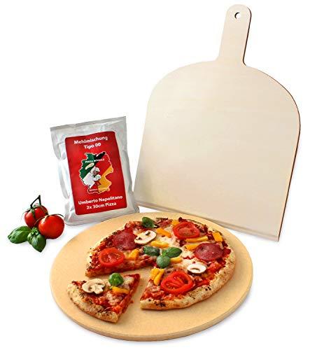 Vesuvo Pizzastein, rund, 32cm