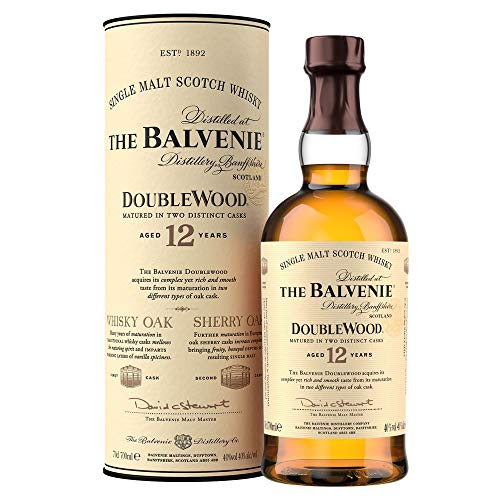 Balvenie Double Wood Single Malt Whisky 12 Jahre
