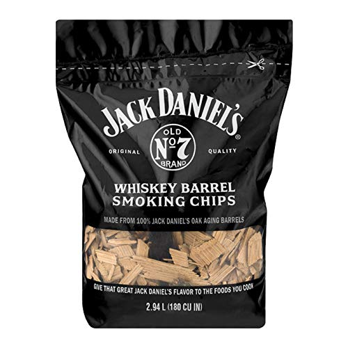 Original Jack Daniel's Wood Smoking Chips, Grill-Flavor, 1kg