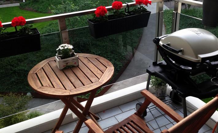 Weber Elektrogrill Balkon : Grillen auf dem balkon chefgrill