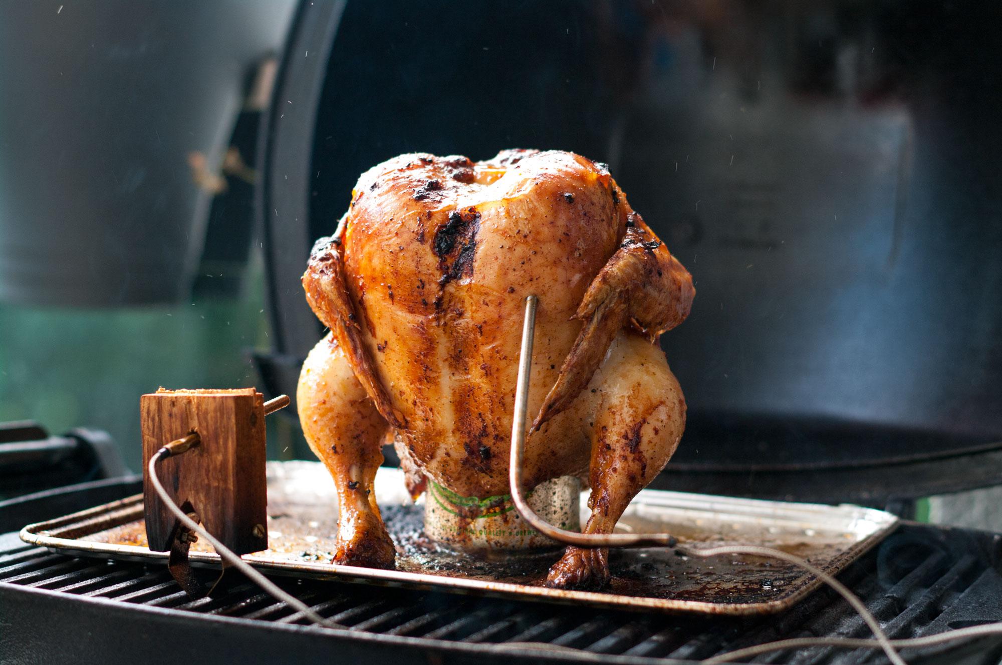 beer can chicken grillrezepte chefgrill. Black Bedroom Furniture Sets. Home Design Ideas