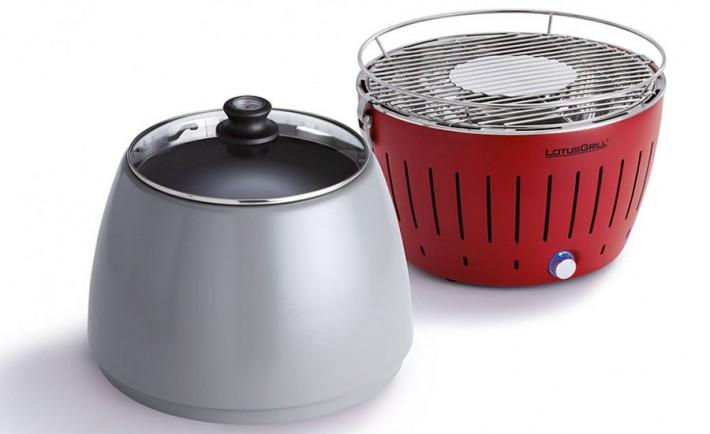 Lotusgrill Rauchfreier Holzkohlegrill Erfahrungen : Lotus grill rauchfreier holzkohlegrill chefgrill