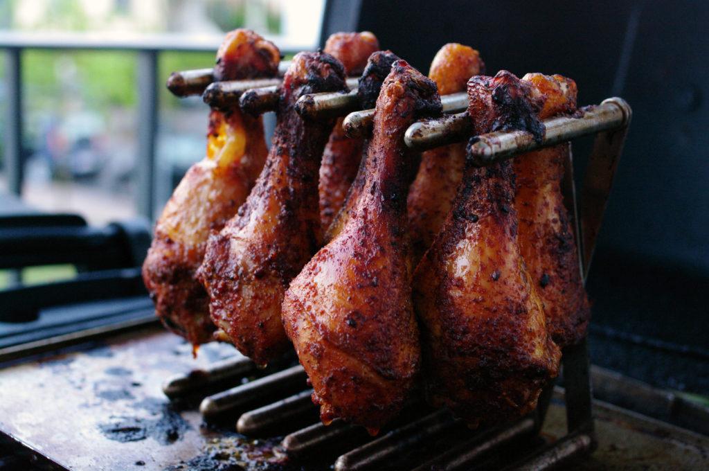 Weber Holzkohlegrill Rezepte : Chicken drumsticks fleisch & fisch chefgrill