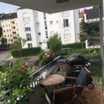 Weber Q 3200 auf unserem Balkon
